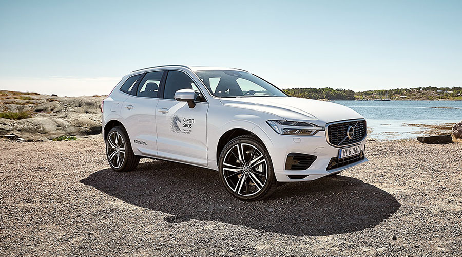 Rondo Plast - Member of the Polykemi Group - supplies recycled materials to Volvo Cars